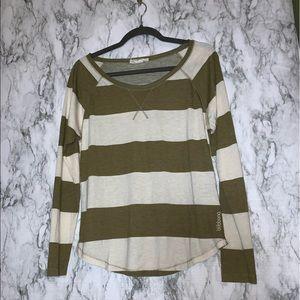 Striped Billabong long sleeved T-shirt
